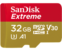 Sandisk microSDHC Extreme 32GB incl. Adapter